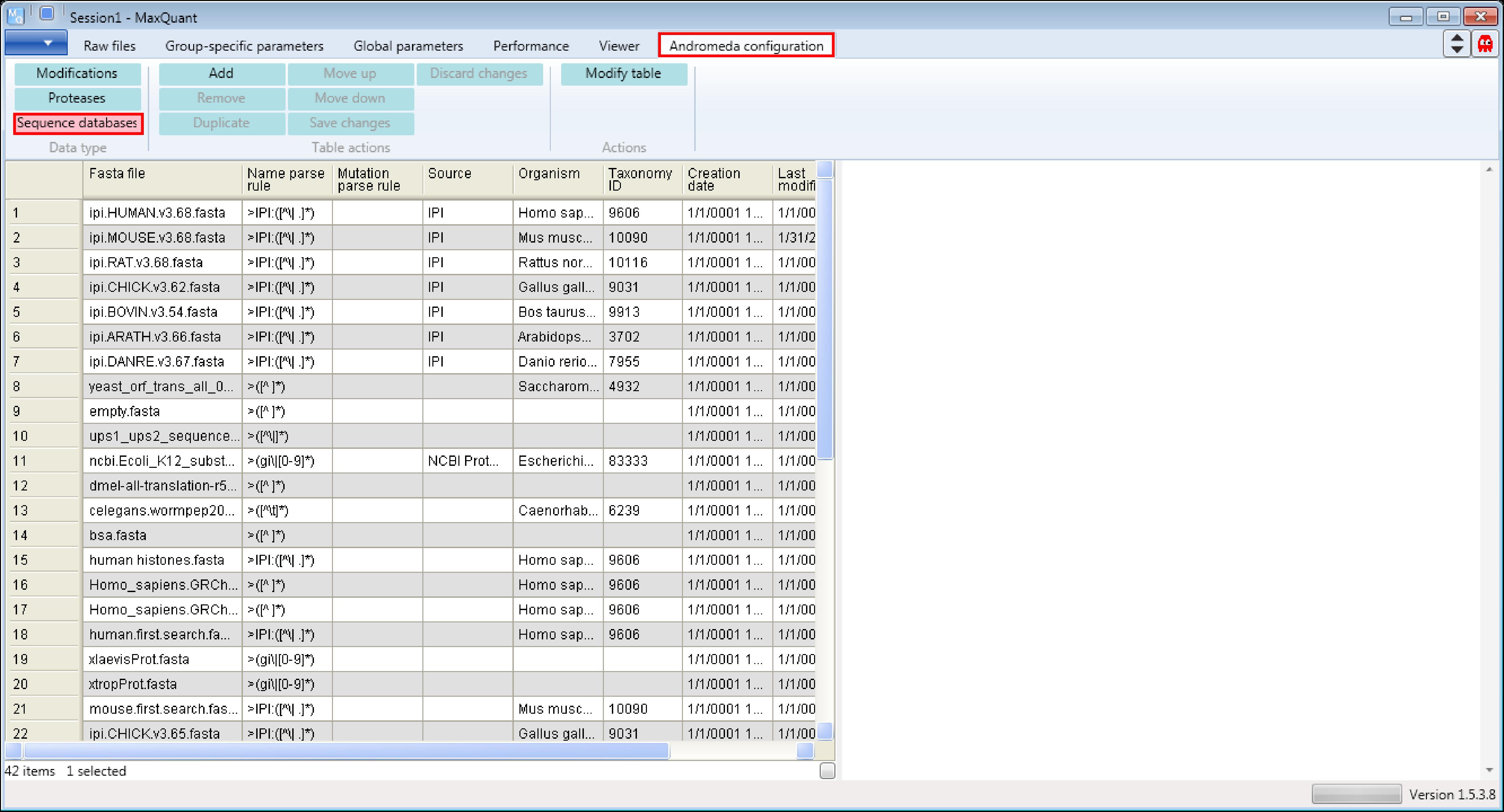 maxquant:andromeda:configuration:protdatabases [MaxQuant documentation]